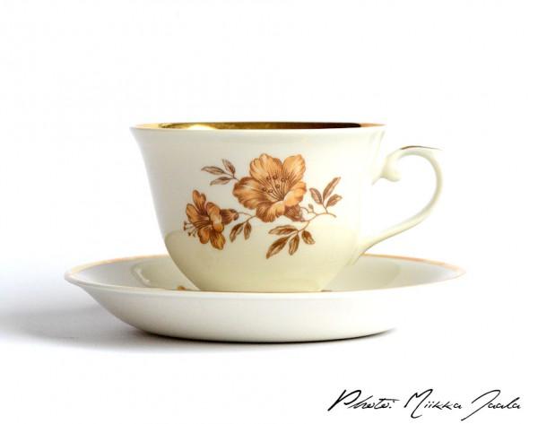 Arabia Myrna kahvikuppipari AX, 0,17 litraa (1937-1994)