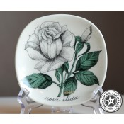 Arabia Esteri Tomula Botanica Rosa elida, seinälautanen