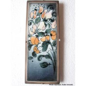 Arabia Heljä Liukko-Sundström seinälaatta 25,5x10,5 cm Tuoksua tuoksua (1997)