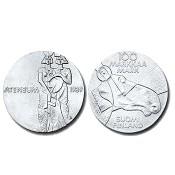 Suomi juhlaraha 100 markkaa, Ateneum 100 vuotta (1989)