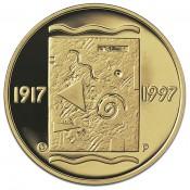 Suomi juhlaraha 1000 markkaa, Itsenäinen Suomi 80 v. kultaraha (1997)