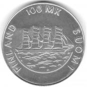 Suomi juhlaraha 100 markkaa, Åland 1921-1991 (1991)