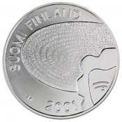 Suomi juhlaraha 100 markkaa, Aino Ackté (2001)