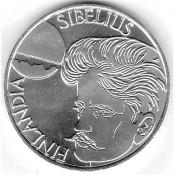 Suomi juhlaraha 100 markkaa, Jean Sibelius 250 vuotta (1999)