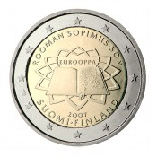 Suomi 2 euroa, Rooman sopimus (2007)