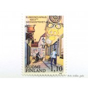 Postimerkki 1979 L846 Elinkeinovapaus 100 vuotta 1,10 mk
