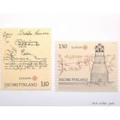 Postimerkki 1979 L839 ja L840 Eurooppa-merkit