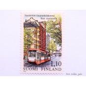 Postimerkki 1979 L842 Saasteeton kaupunkiliikenne 1,10 mk