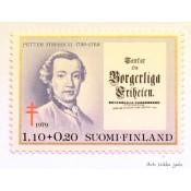 Postimerkki 1979 L845 Tuberkuloosi 1,10 + 0,20 mk Petter Forsskål