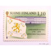 Postimerkki 1979 L837 Upseerikoulutus 200 vuotta 1,10 mk