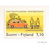 Postimerkki 1979 L848 Yksityisautoliikenne 1,10 mk