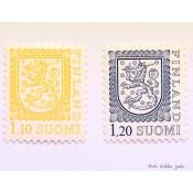 Postimerkki 1979 L834 ja L835 Yleismerkit leijona