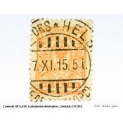 Postimerkki 2 penniä 1911 L61A, uusi kotkamerkki