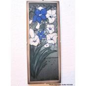 Arabia Heljä Liukko-Sundström seinälaatta 25,5x10,5 cm Kesällä kerran (1997)
