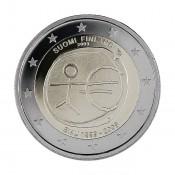 Suomi 2 euroa, EMU 10 vuotta (2009)