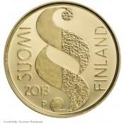 Suomi juhlaraha 100 euroa, Valtionpäivät 1863, kultaraha (2013)