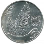 Suomi juhlaraha 100 markkaa, YK 1945-1995 (1995)