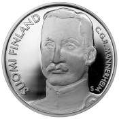 Suomi juhlaraha 10 euroa, C.G.E Mannerheim KM#112 (2003)