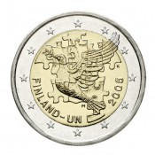 Suomi 2 euroa, YK:n juhlaraha (2005)
