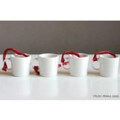Iittala Teema joulukoriste minimukit 4-setti, valkoinen